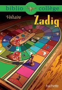 Isabelle de Lisle et  Voltaire - Bibliocollège - Zadig - n° 72.