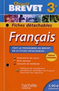 Isabelle de Lisle - Français 3e - Fiches détachables.