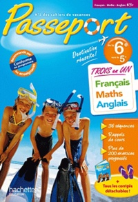 Français-Maths-Anglais de la 6e vers la 5e - Isabelle de Lisle |