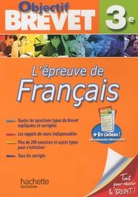 Lépreuve de francais 3e.pdf