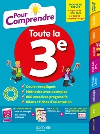 Isabelle de Lisle et Brigitte Réauté - Pour Comprendre Toutes Les Matières 3E.