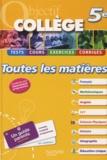 Isabelle de Lisle et Pierre Curel - Toutes les matières 5e.
