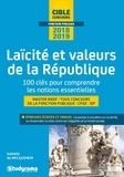 Isabelle de Mecquenem - Laïcité et valeurs de la République - 100 clés pour comprendre les notions essentielles Master MEEF, tous concours de la fonction publique, CPGE, IEP.