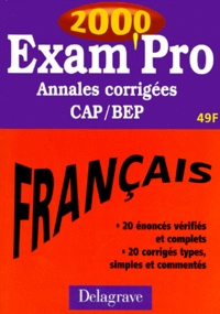 FRANCAIS CAP/BEP. - Annales corrigées 2000.pdf