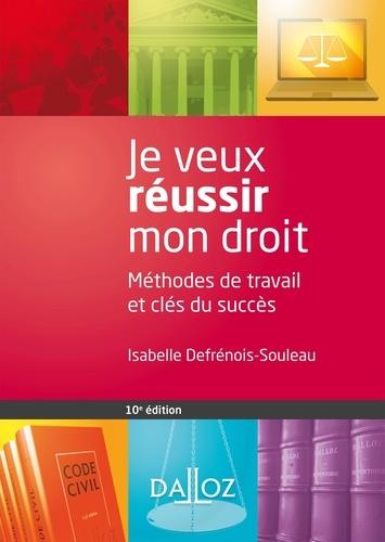 Je veux réussir mon droit. Méthodes de travail et clés du succès - Isabelle Defrénois-Souleau - Format PDF - 9782247167852 - 12,99 €