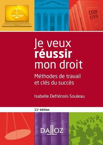 Isabelle Defrénois-Souleau - Je veux réussir mon droit.
