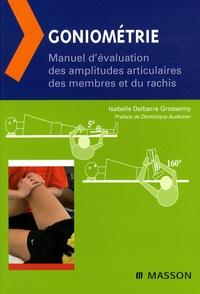Deedr.fr Goniométrie - Manuel d'évaluation des amplitudes articulaires des membres et du rachis Image