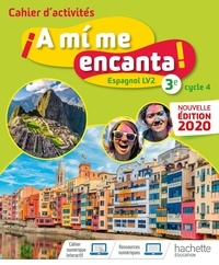 Rhonealpesinfo.fr Espagnol 3e Cycle 4 A mi me encanta! - Cahier d'activités Image