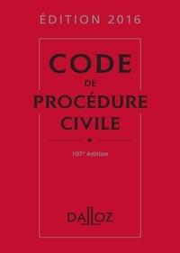 Isabelle Després et Laurent Dargent - Code de procédure civile 2016.