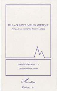 Histoiresdenlire.be De la criminologie en Amérique - Perspectives comparées France-Canada Image