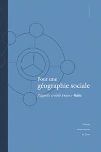 Deedr.fr Pour une géographie sociale - Regards croisés France-Italie Image