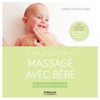 Ma leçon de massage avec bébé- De la naissance à 6 ans - Isabelle Gambet-Drago pdf epub