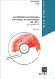 Isabelle Gandin - Répertoire des entreprises contrôlées majoritairement par l'Etat - Au 31 décembre 2003. 1 Cédérom
