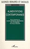 Isabelle Garabuau-Moussaoui et Elise Palomares - Alimentations contemporaines.
