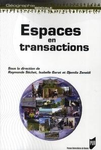 Isabelle Garat et Djemila Zeneidi - Espaces en transactions.