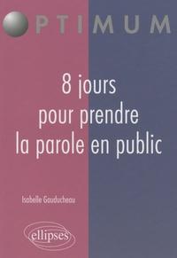 Galabria.be 8 jours pour prendre la parole en public Image