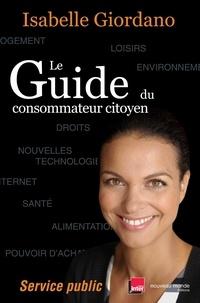 Isabelle Giordano - Le Guide du consommateur citoyen - Service public.