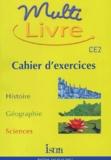 Isabelle Grégoire et André Bendjebbar - Multi livre CE2. - Cahier d'exercices.