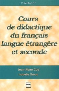 Cours De Didactique Du Français Langue Isabelle Gruca Jean
