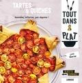Isabelle Guerre - Tartes & Quiches - Assemblez, enfournez, puis dégustez ! 40 recettes gourmandes.