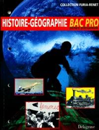 Isabelle Guillemard et Christian Avocat - Histoire-géographie, baccalauréat professionnel, classe de première.