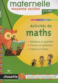 Isabelle Gunzburger - Activités de maths Moyenne Section 4-5 ans.