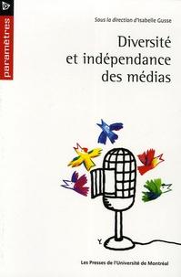 Isabelle Gusse - Diversité et indépendance des médias.
