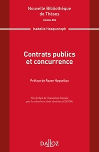 Isabelle Hasquenoph - Contrats publics et concurrence.