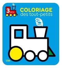 Isabelle Jacqué - Coloriage des tout-petits (train).