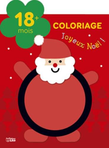 Coloriage Joyeux Noel Isabelle Jacque Livres Furet Du Nord