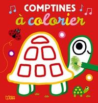 Isabelle Jacqué - Comptines à colorier.