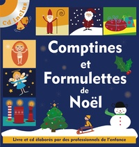 Isabelle Jacquet - Comptines et formulettes de Noël. 1 CD audio