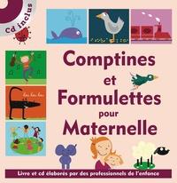 Isabelle Jacquet - Comptines et formulettes pour Maternelle. 1 CD audio