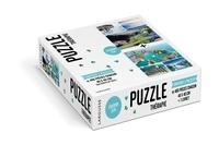 Isabelle Jeuge-Maynart et Ghislaine Stora - Evasion zen - Contient 2 puzzles de 460 pièces chacun.