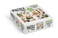Isabelle Jeuge-Maynart et Ghislaine Stora - Jolies planches du potager - Contient 2 puzzles de 420 pièces chacun.
