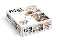Isabelle Jeuge-Maynart et Ghislaine Stora - L'instant thé - Contient 2 puzzles de 460 pièces chacun.