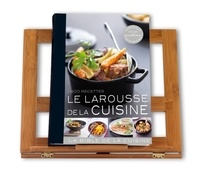 Isabelle Jeuge-Maynart et Ghislaine Stora - Le Larousse de la cuisine - Avec son lutrin.