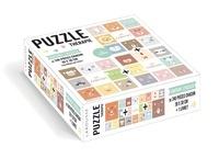 Isabelle Jeuge-Maynart et Ghislaine Stora - Les Zanimos - Contient 3 puzzles de 240 pièces chacun.
