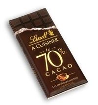 Deedr.fr Lindt à cuisiner, Le 70 % cacao - Les meilleures recettes Image
