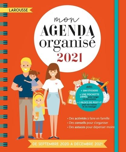 Mon agenda organisé  Edition 2021
