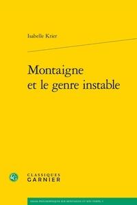 Montaigne et le genre instable.pdf