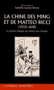 Alixetmika.fr La Chine des Ming et de Matteo Ricci (1552-1610) - Le premier dialogue des savoirs avec l'Europe Image