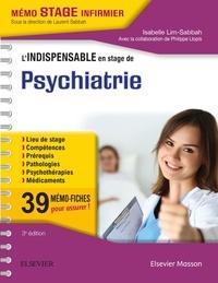 Isabelle Lim-Sabbah - L'indispensable en stage de Psychiatrie.