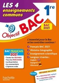 Isabelle Lisle et Arnaud Léonard - Les 4 enseignements communs 1re - Français, Histoire-géographie, Enseignement scientifique, Langues.