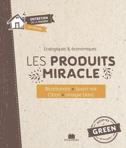 Les produits miracle. Bicarbonate, savon noir, citron, vinaigre blanc