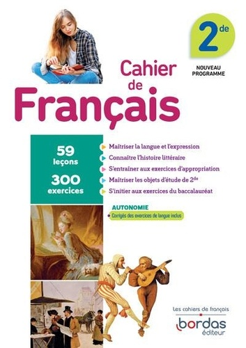 Francais 2de Cahier D Exercices Grand Format