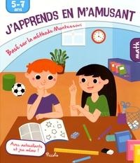 Artinborgo.it J'apprends en m'amusant Math - Basé sur la méthode Montessori, 5-7 ans, avec autocollants et jeu mémo! Image