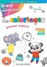 Isabelle Nicolle et Cécile Hudrisier - Mes coloriages variés et progressifs toute petite section-petite section - Avec un masque à découper.