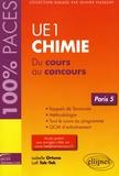 Isabelle Ortuno et Lotfi Tak-Tak - UE1 Chimie (Paris 5) - Du cours au concours.