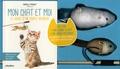 Isabelle Pasquet - Coffret cadeau pour mon chat et moi - Avec un livre, une canne à chat et une souris mécanique.